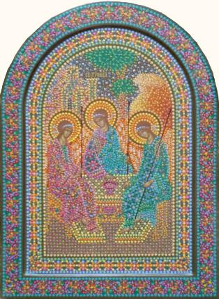 Икона Святой Троицы , иконописец Юрий ...: www.iconkuznetsov.ru/index.php?sid=311&did=845