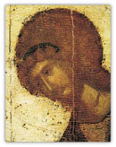 Фрагмент иконы «Архангел Михаил», Феофан Грек, 1405 г